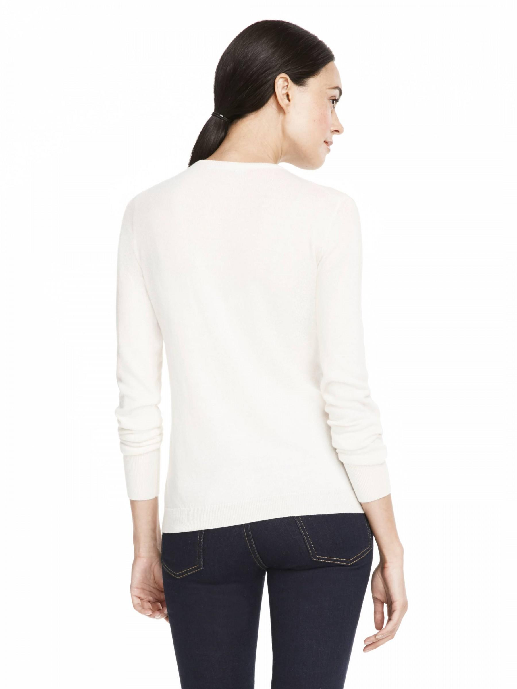 Draper james Lace Panel Cardigan in White | Lyst