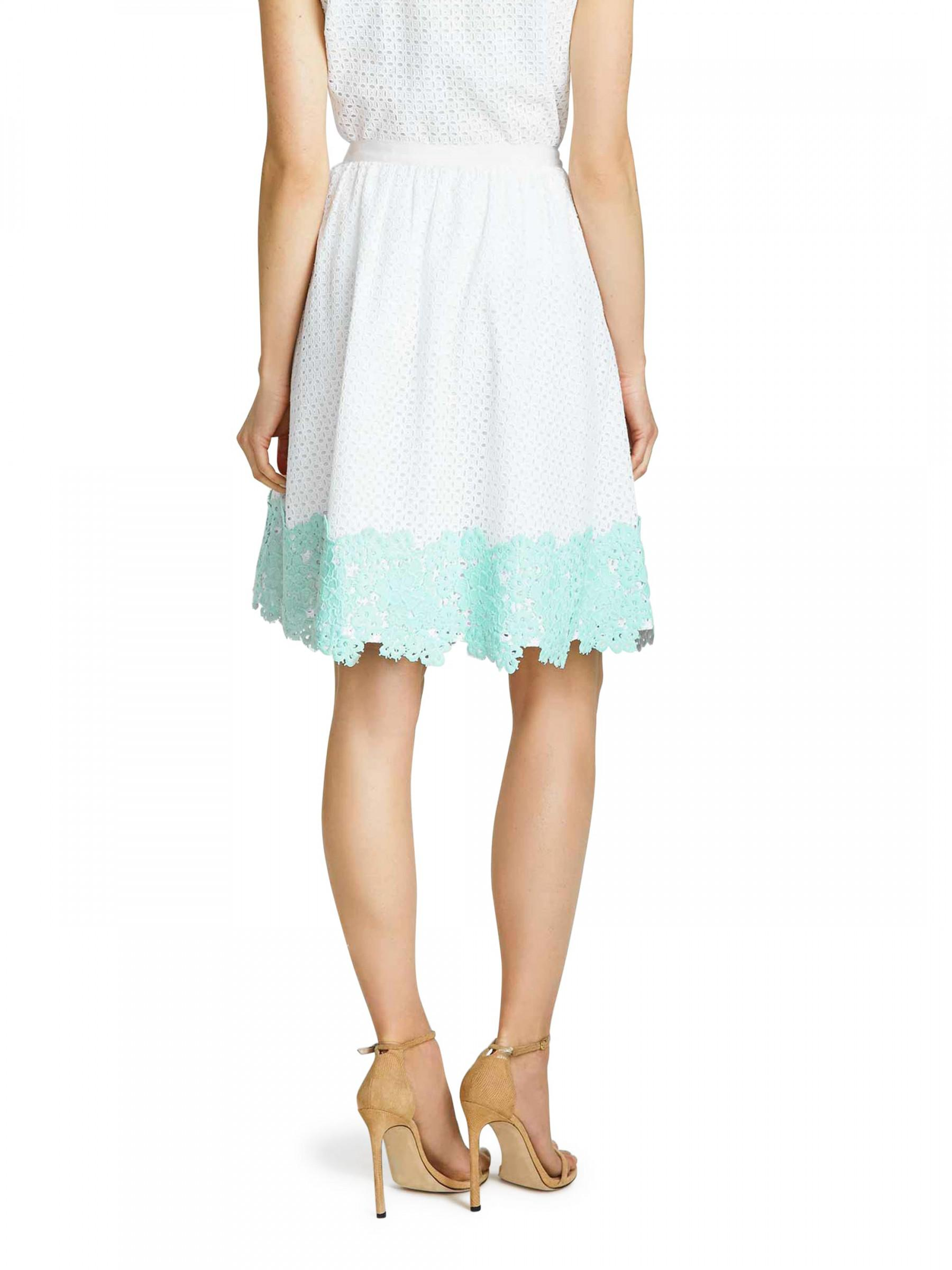 09b43af72eea Lyst - Draper James Emma Eyelet Skirt