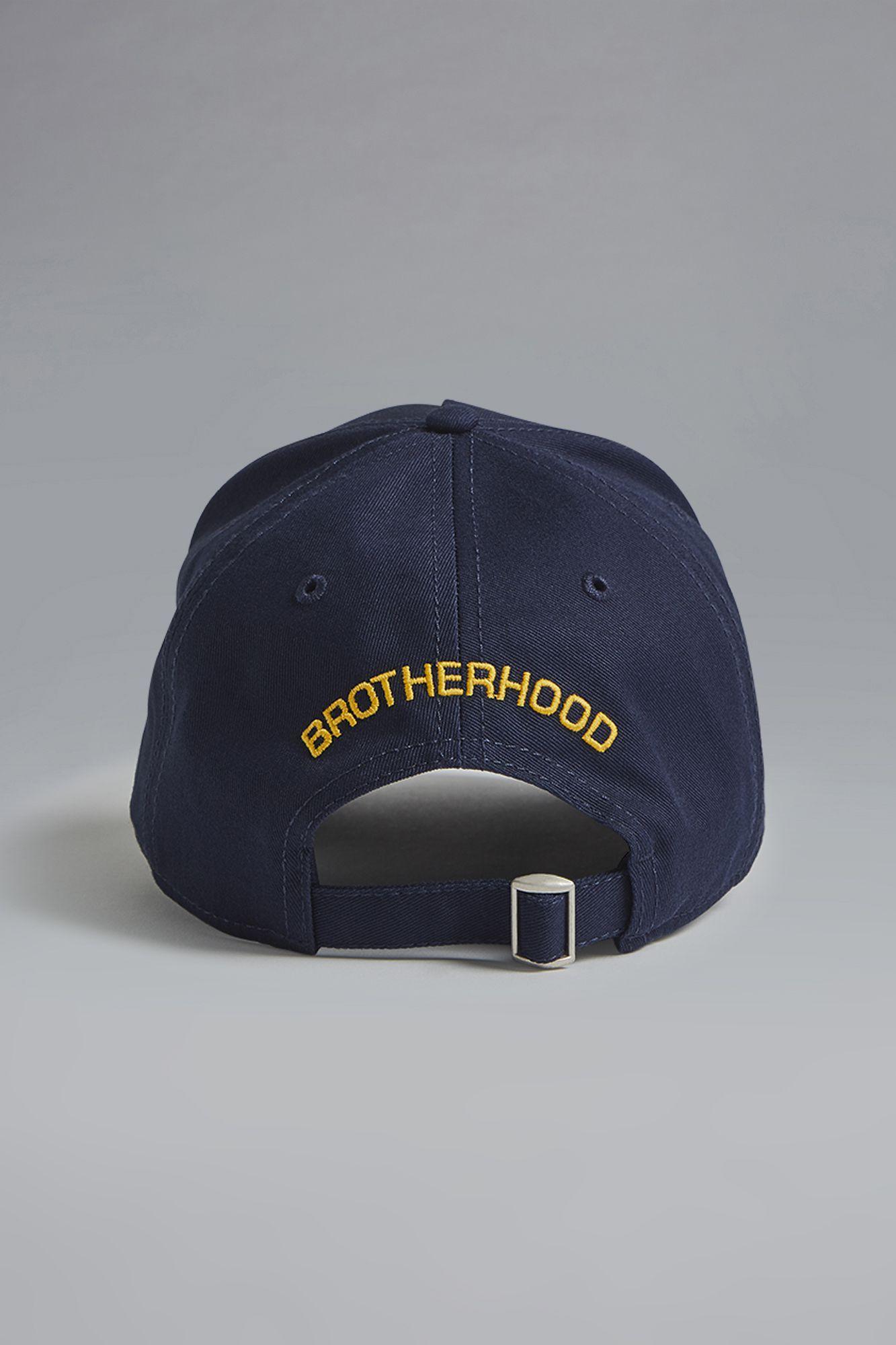 b7ccd3ef820641 DSquared² Caten Baseball Cap in Blue for Men - Lyst