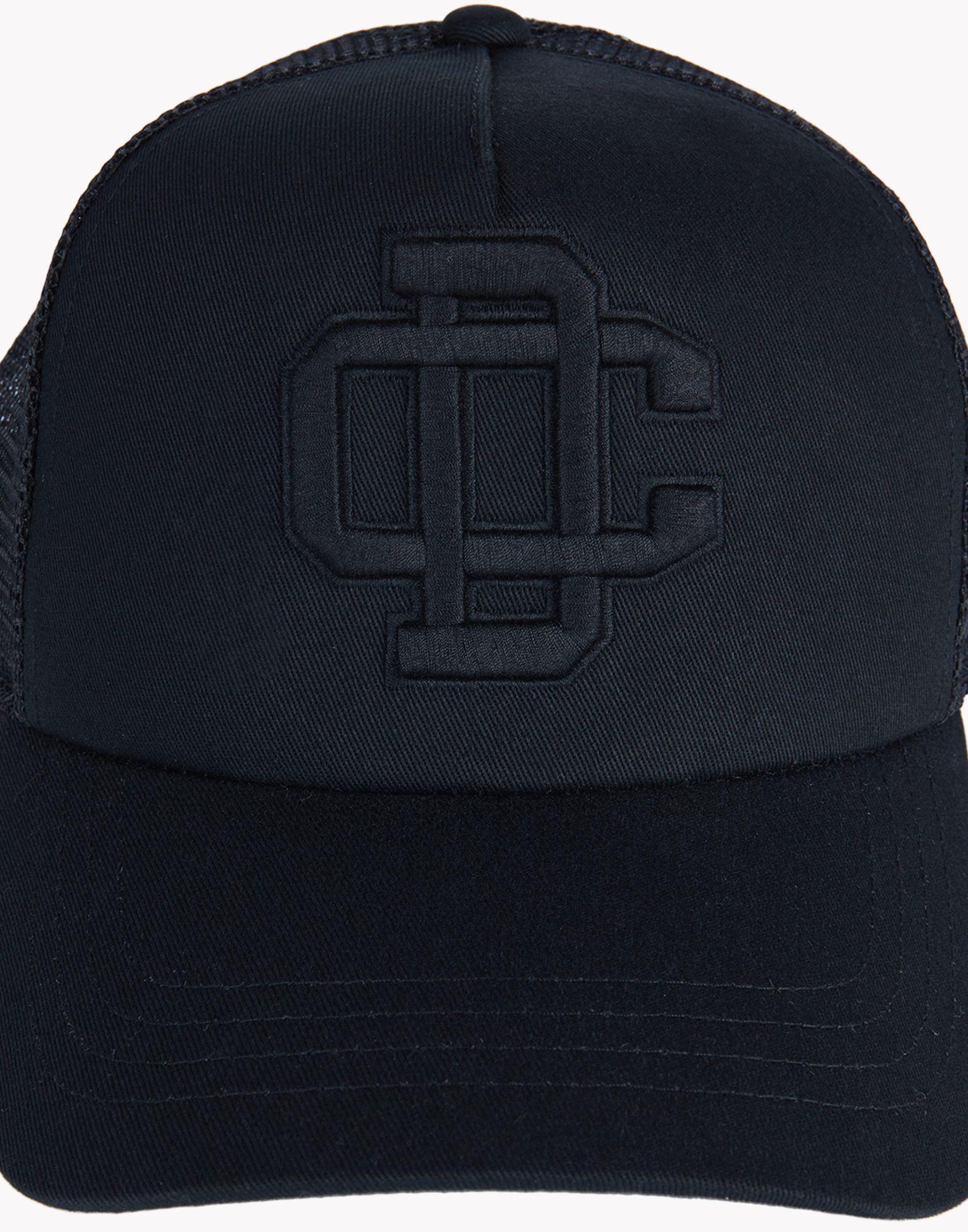 Lyst - DSquared² DC Baseball Cap in Black for Men 6887a2f8d28