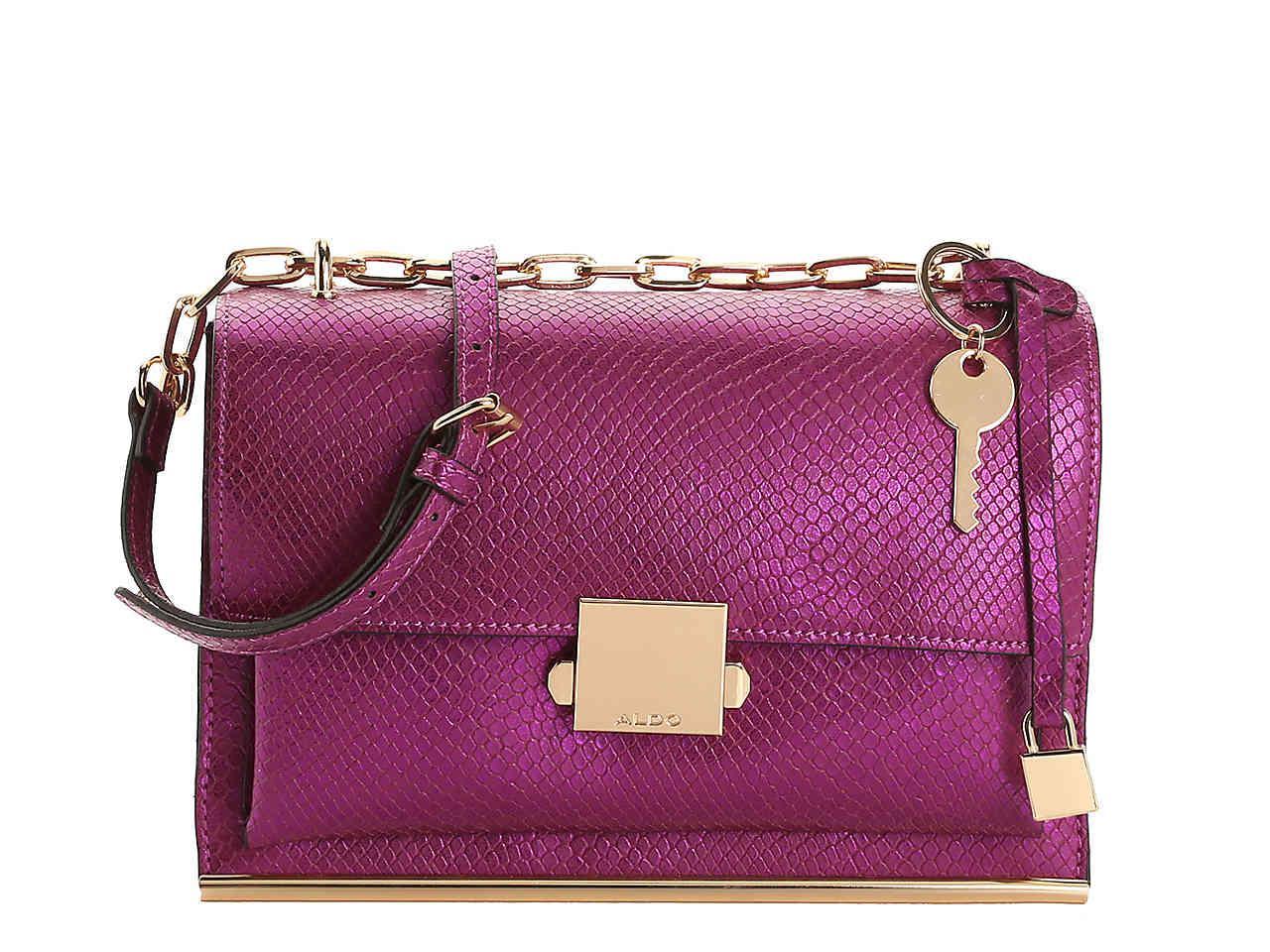 4d3fbfe474e Lyst - ALDO Valstrona Crossbody Bag in Purple - Save 37%