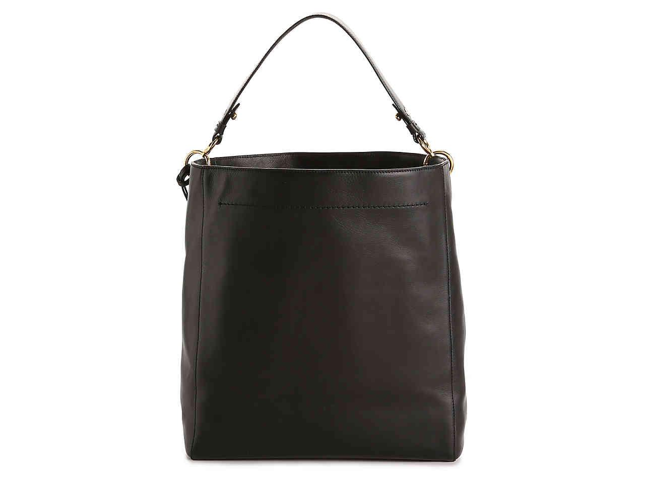 Cole Haan - Black Zoe Leather Tote - Lyst. View fullscreen f708a20421
