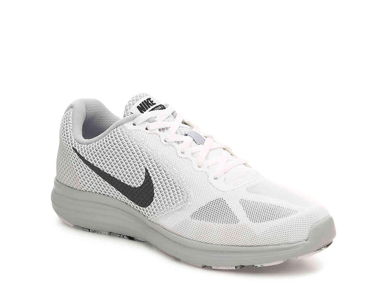 f5a5b17ed712a Lyst Nike Revolution 3 Lightweight Running Shoe In White For Men
