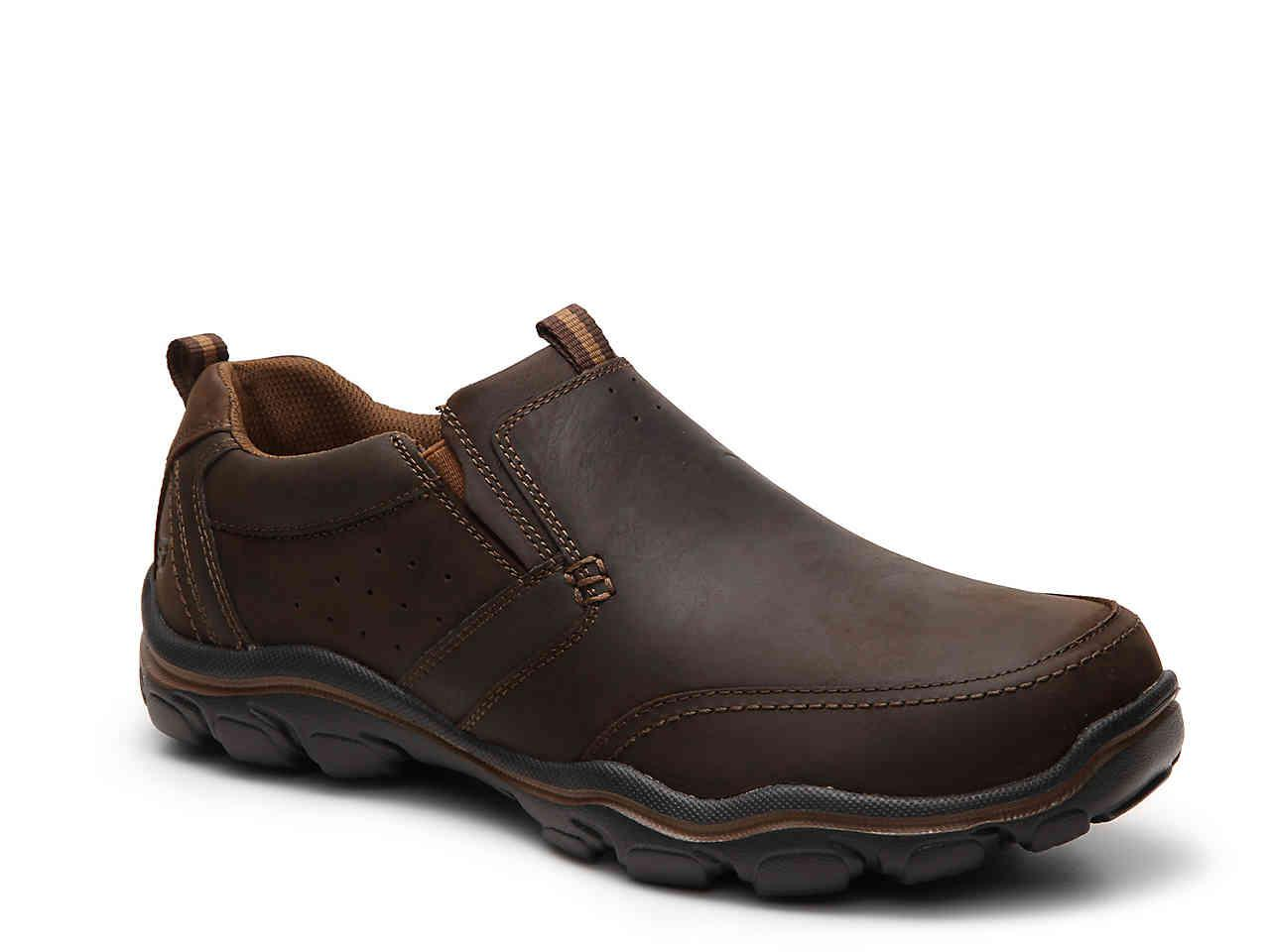 514e8a22be0 Lyst - Skechers Relaxed Fit Devent Slip-on in Brown for Men
