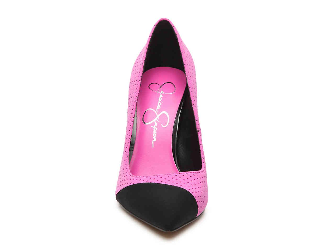 585799f89e1 Jessica Simpson - Pink Kasendra Pump - Lyst. View fullscreen