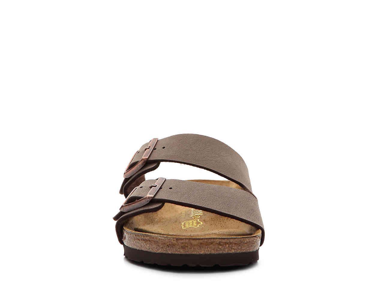a807d9cfaa Birkenstock - Brown Arizona Birko-flor Slide Sandal for Men - Lyst. View  fullscreen
