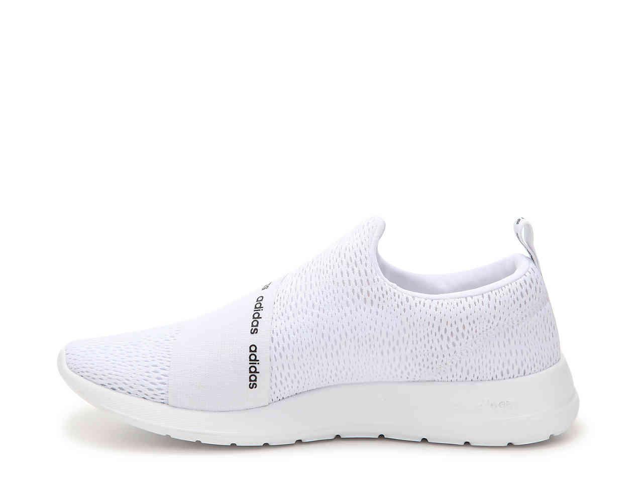 a47d3c526 Lyst - adidas Refine Slip-on Sneaker in White