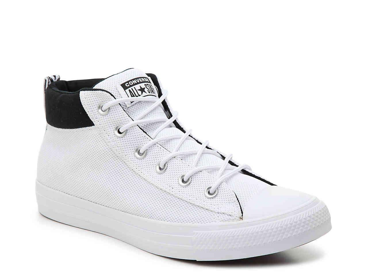 Lyst - Converse Chuck Taylor All Star Street Mid-top Sneaker in ... 86e20bce3