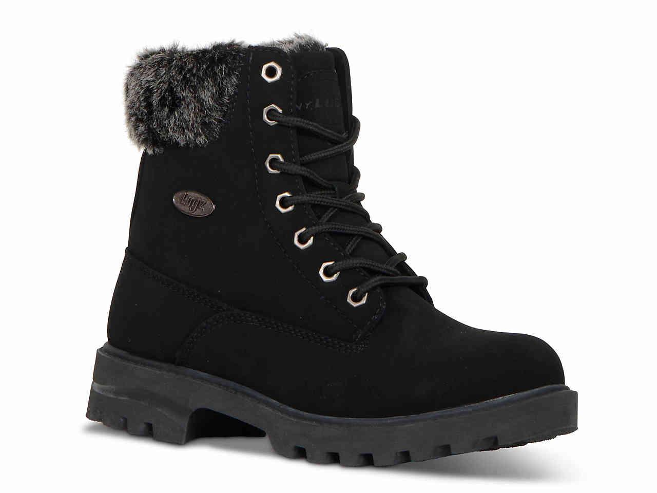 15e780c17095 Lyst - Lugz Empire Hi Bootie in Black