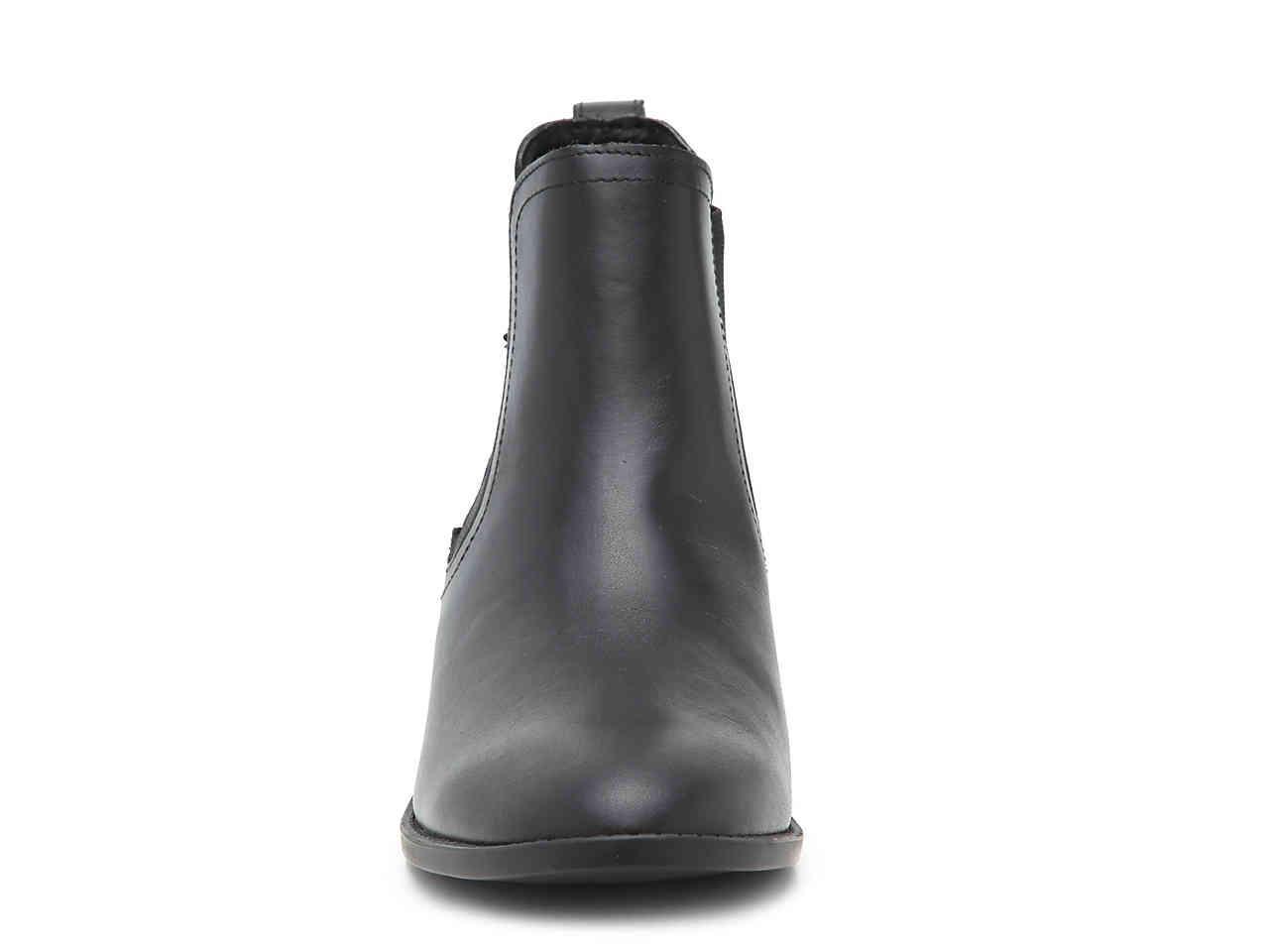 e340d034a070 Steve Madden - Black Drape Chelsea Boot - Lyst. View fullscreen