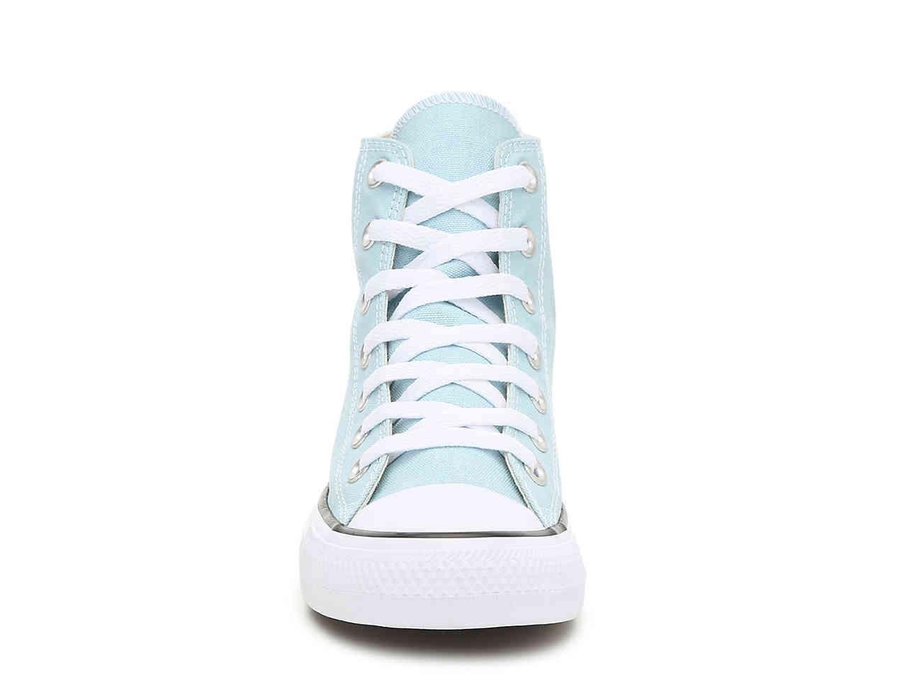 82f301480da06b Converse - Blue Chuck Taylor All Star Hi High-top Sneaker - Lyst. View  fullscreen