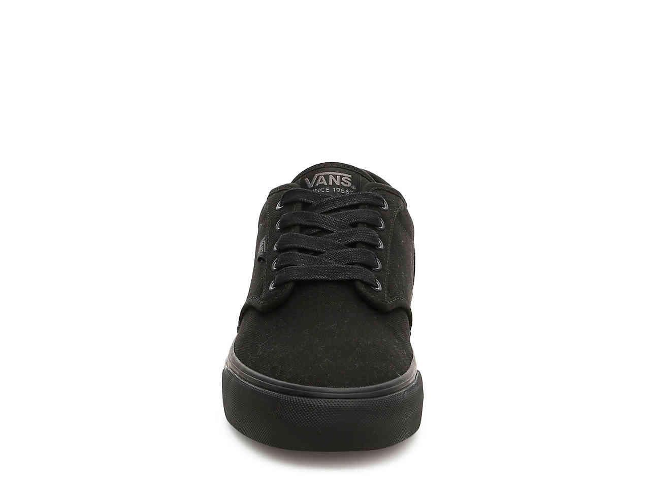 Lyst - Vans Atwood Deluxe Sneaker in Black for Men 05a2542d6