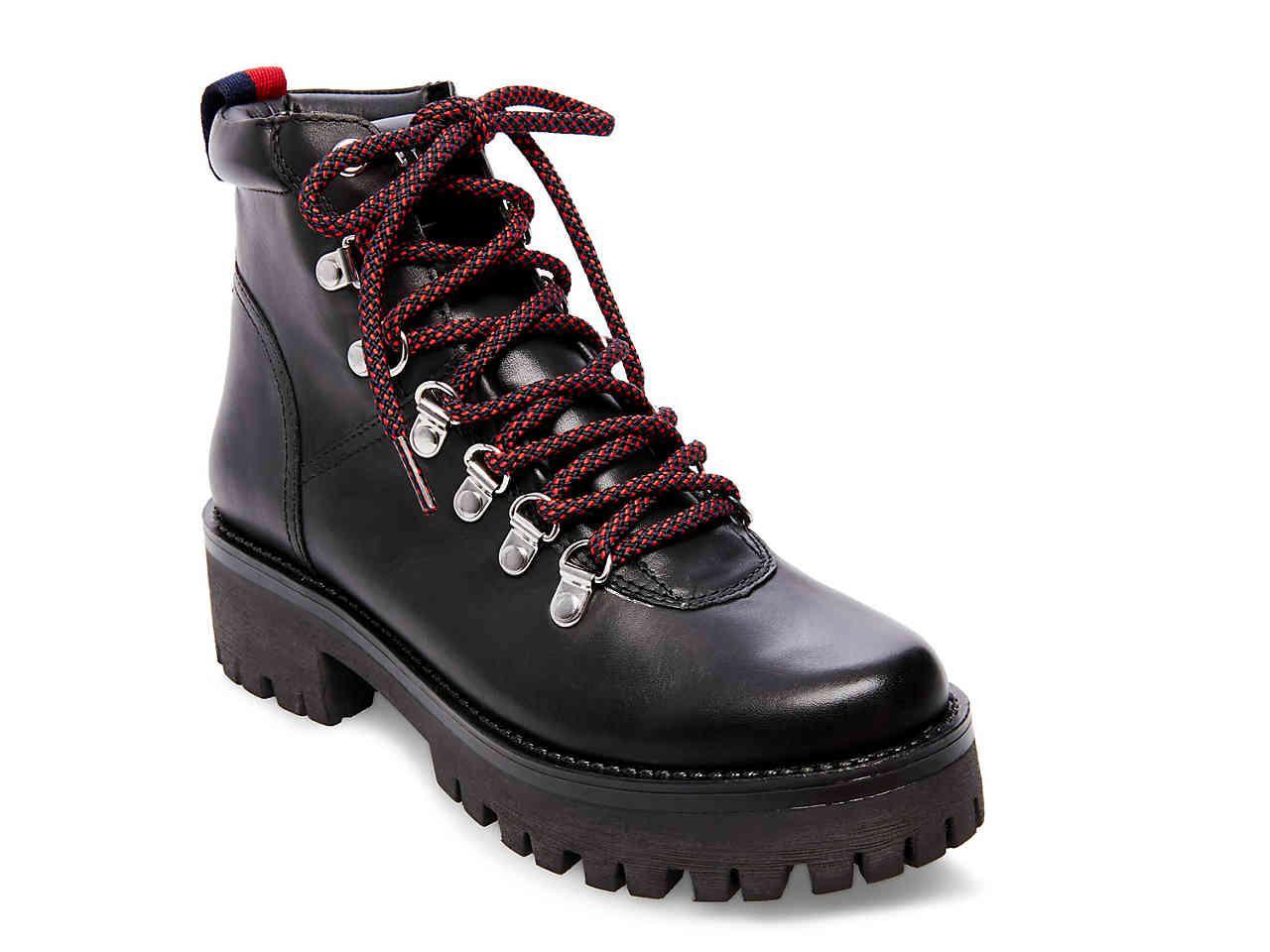 98bed0dbd62 Lyst - Steve Madden Bam Combat Boot in Black