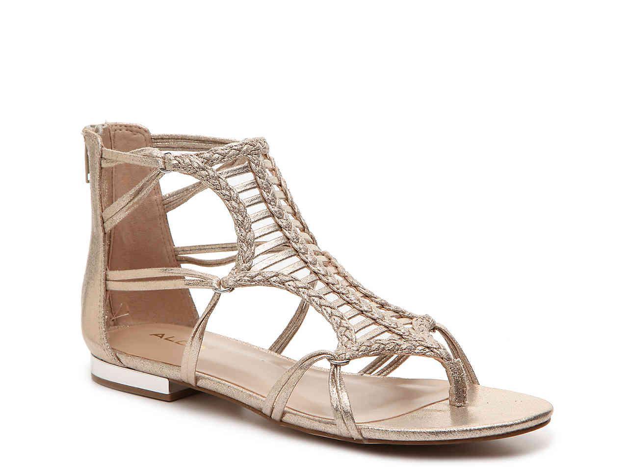 ec201b67292e Lyst - ALDO Demme Gladiator Sandal in Metallic