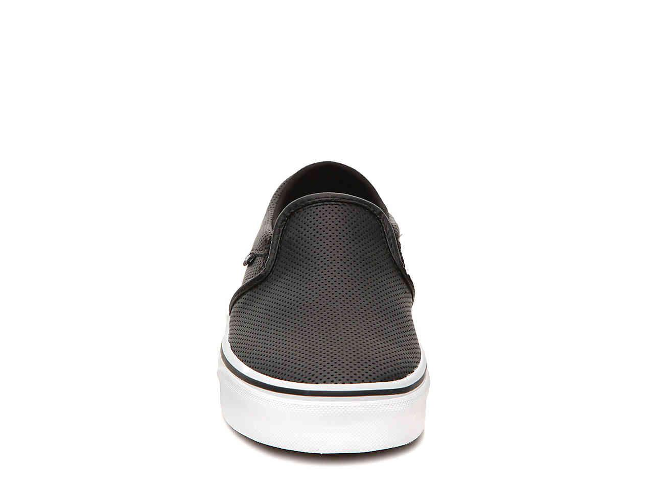75f1a9c53e8 ... Asher Perforated Slip-on Sneaker - Lyst. View fullscreen