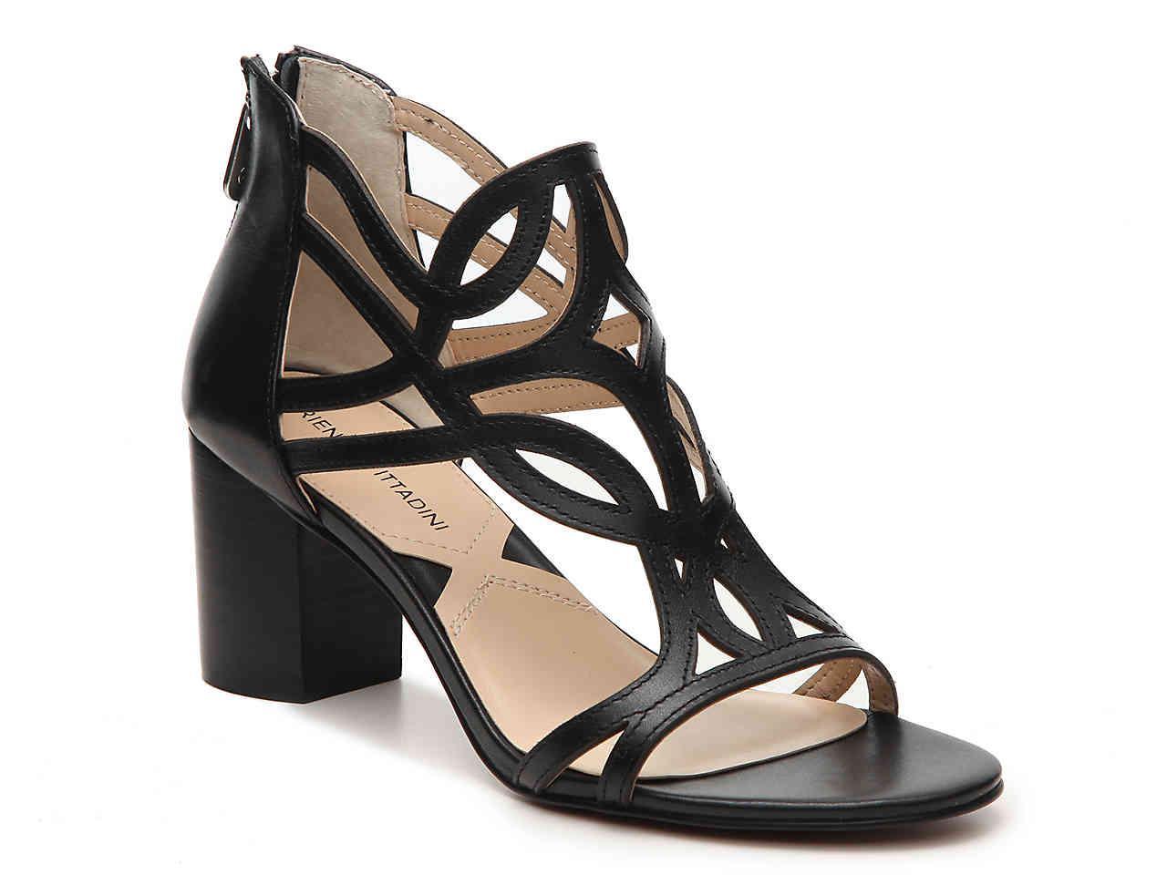 8f042ac2a5 Adrienne Vittadini Perlin Sandal in Black - Lyst