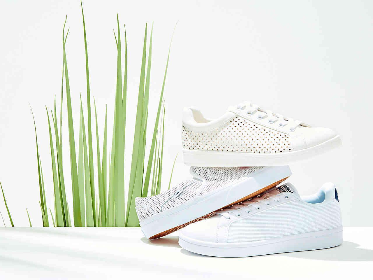 lyst adidas sneaker in weißes mesh nutzen sauber