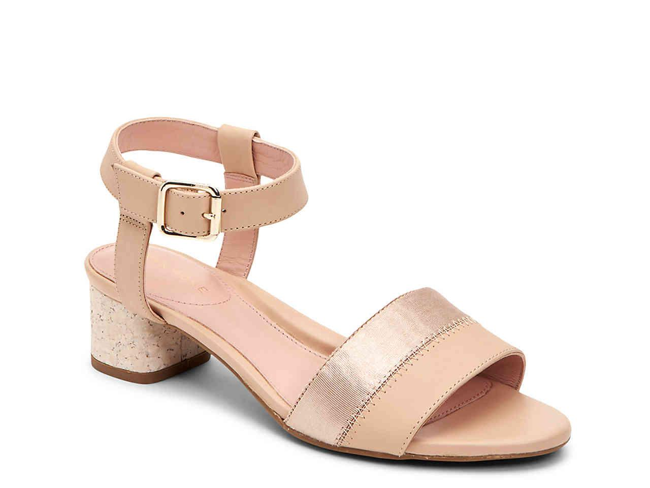 a85c7941489 Lyst - Taryn Rose Makena Sandal in Natural