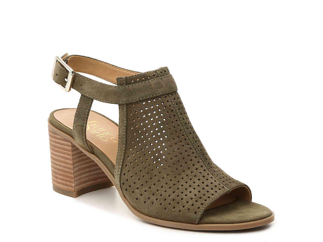 a49d58634079f Lyst - Franco Sarto Harlet 2 Sandal in Green