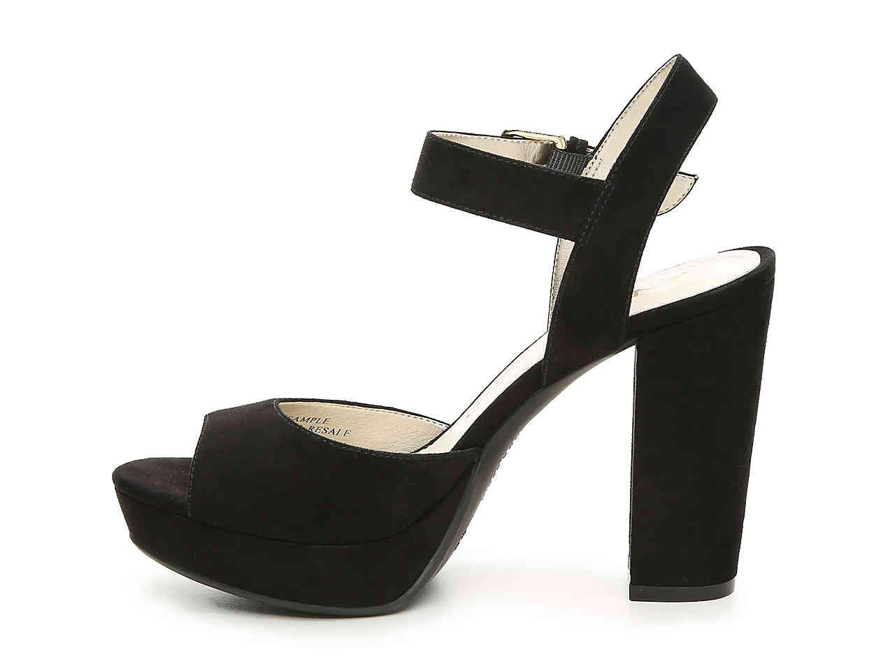 36598f3796f0 Lyst - Anne Klein Lyza Platform Sandal in Black