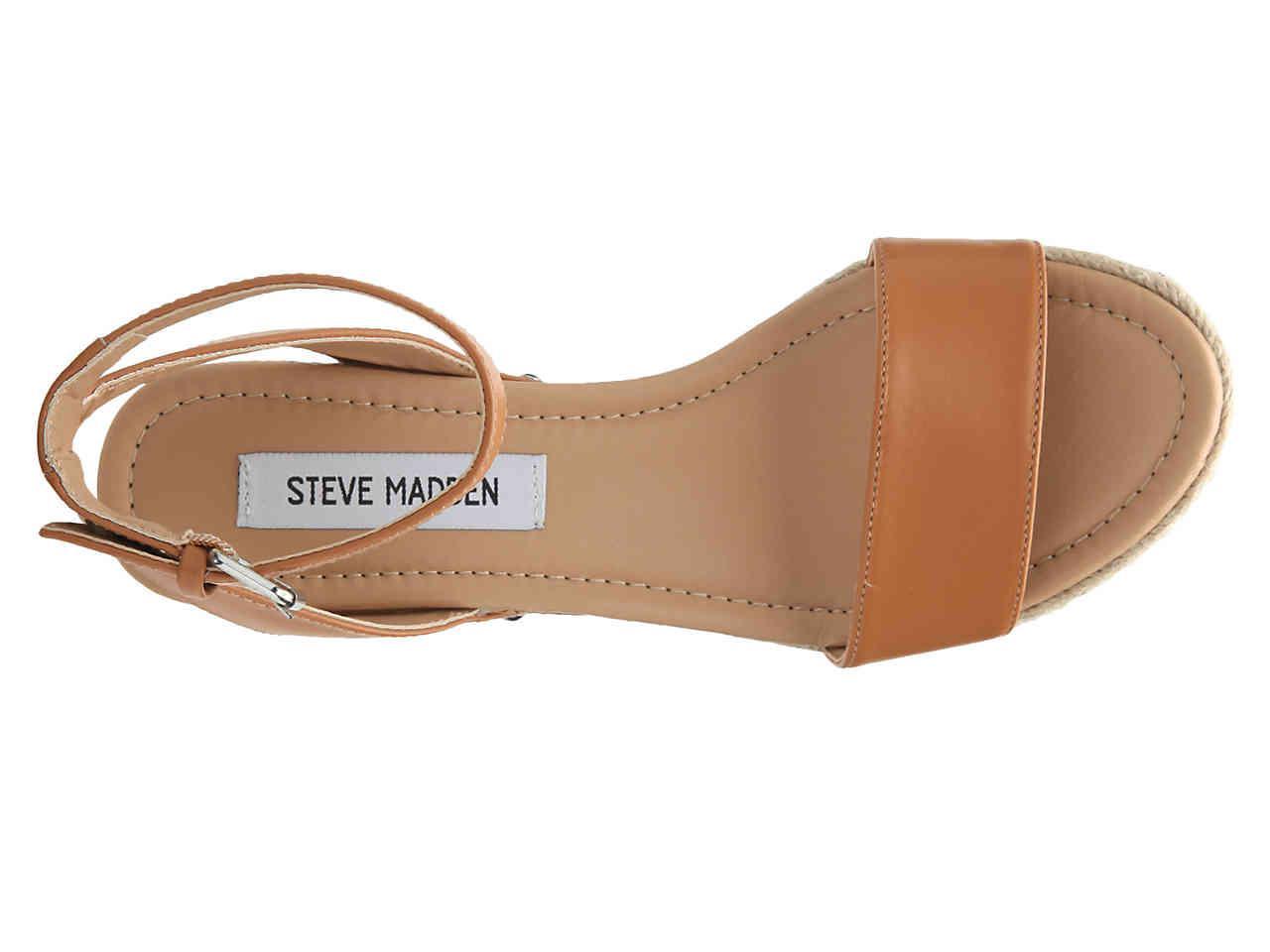 17c9ee3235b1 Lyst - Steve Madden Jaide Espadrille Wedge Sandal in Brown