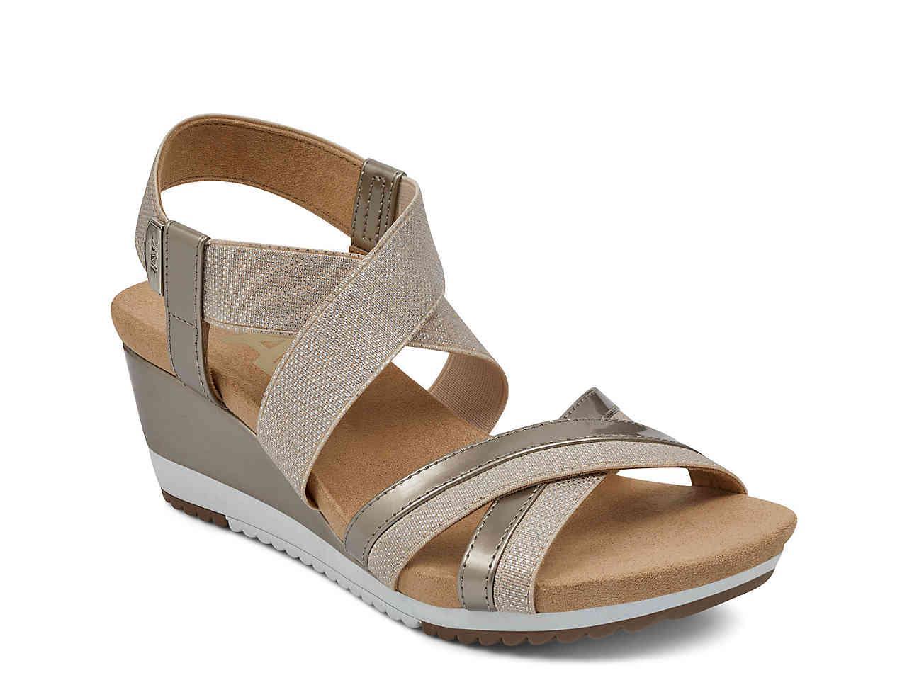 454202540b9a Lyst - Anne Klein Sport Siesta Wedge Sandal
