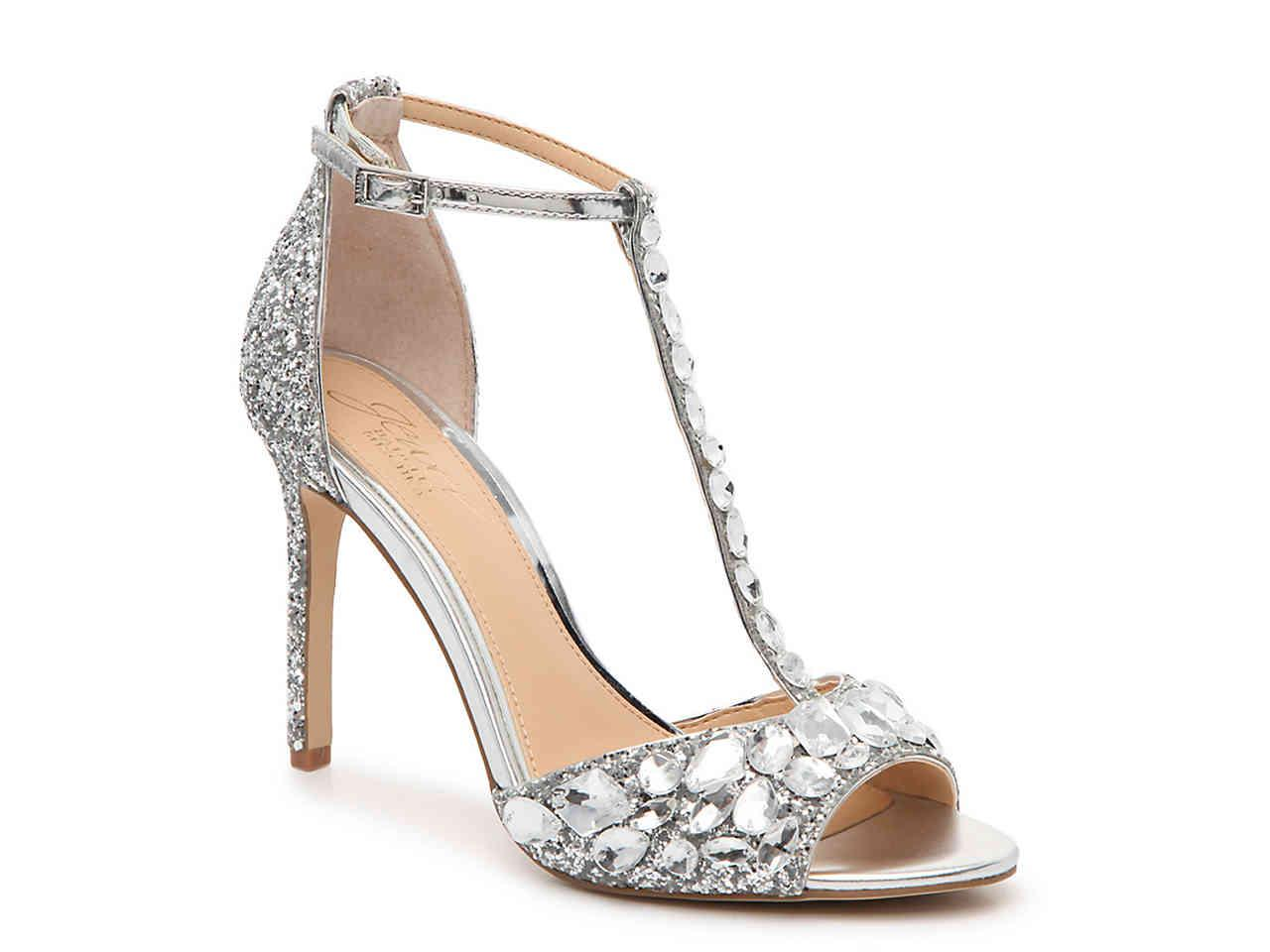 e233559268b Badgley Mischka - Metallic Graciella Sandal - Lyst. View fullscreen