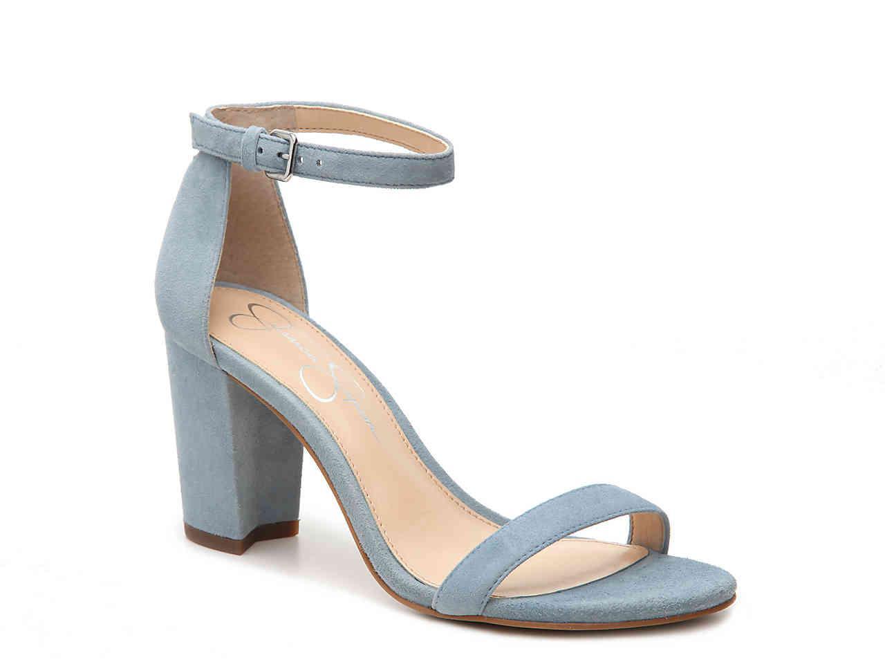 7c70ccbf37 Jessica Simpson Monrae Sandal in Blue - Lyst