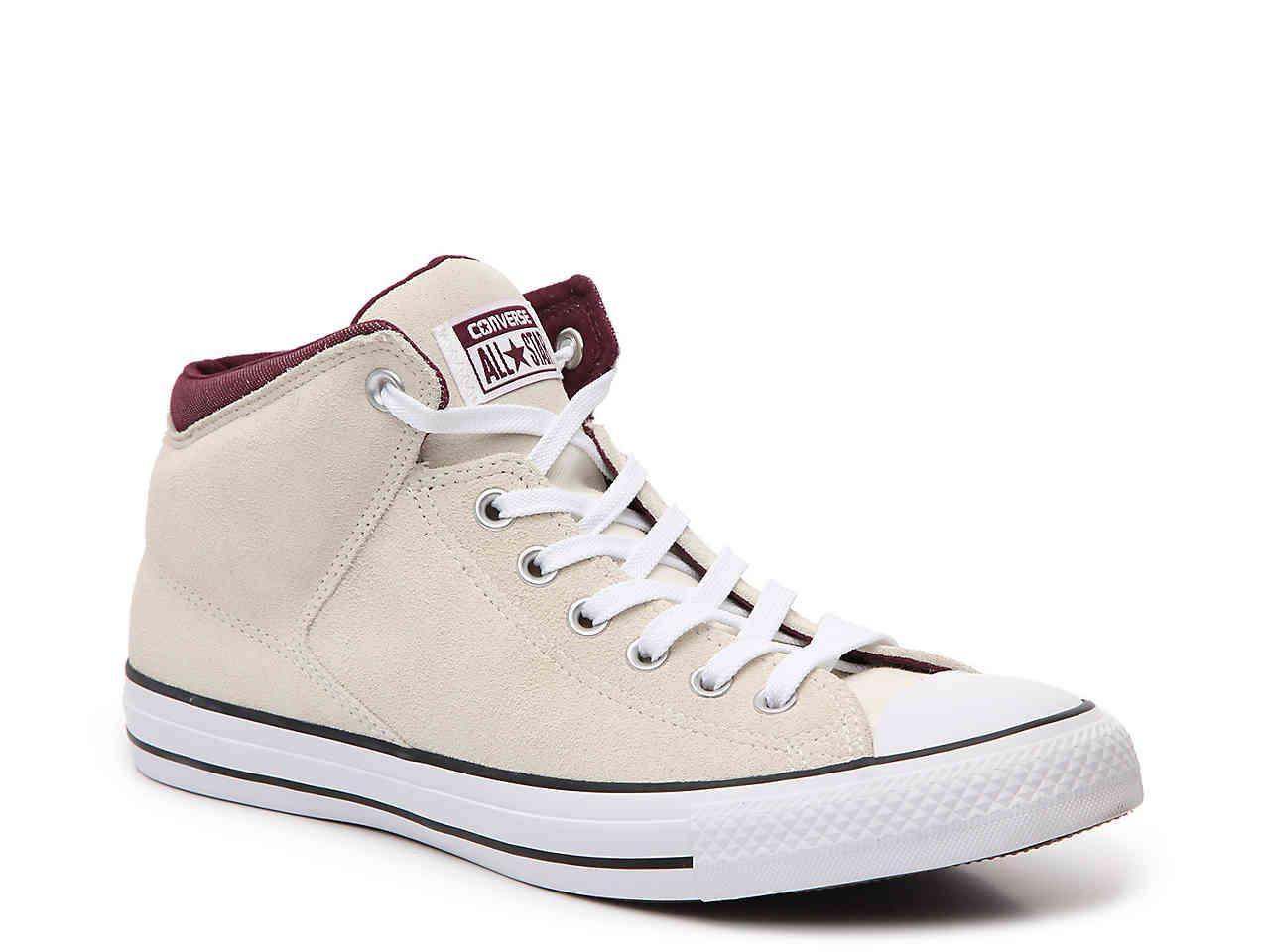 99d0c5e4b004bc Converse - White Chuck Taylor All Star Street Mid-top Sneaker - Lyst. View  Fullscreen
