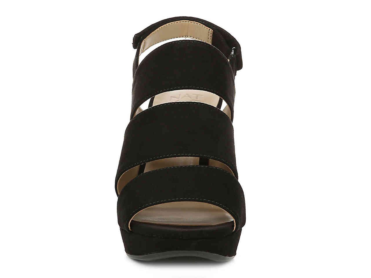 fb16887de6e Naturalizer - Black Freema Platform Sandal - Lyst. View fullscreen