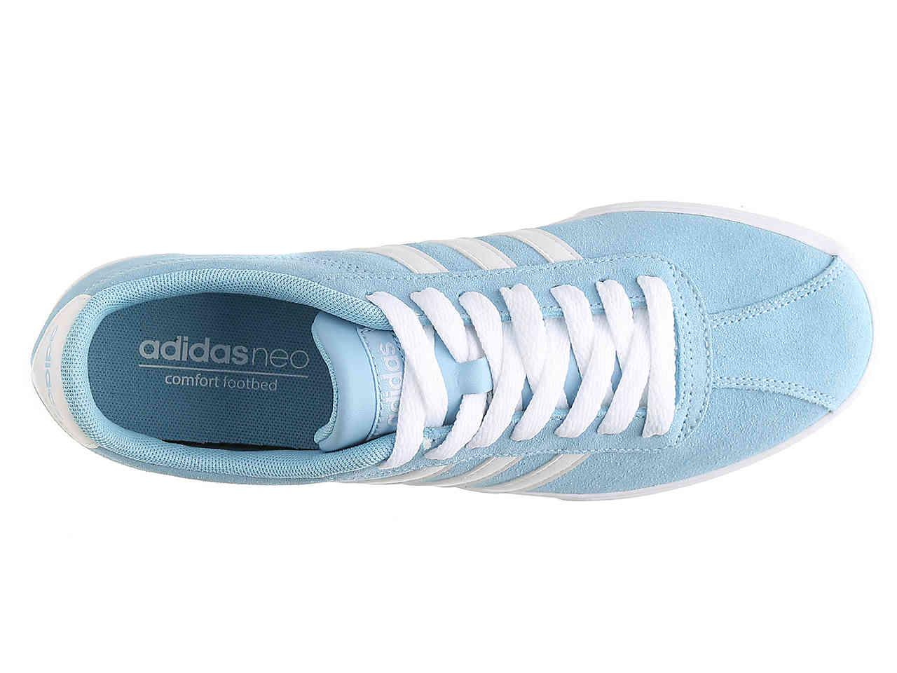 new arrival 7d80c cbdb3 Lyst - adidas Courtset Sneaker in Blue