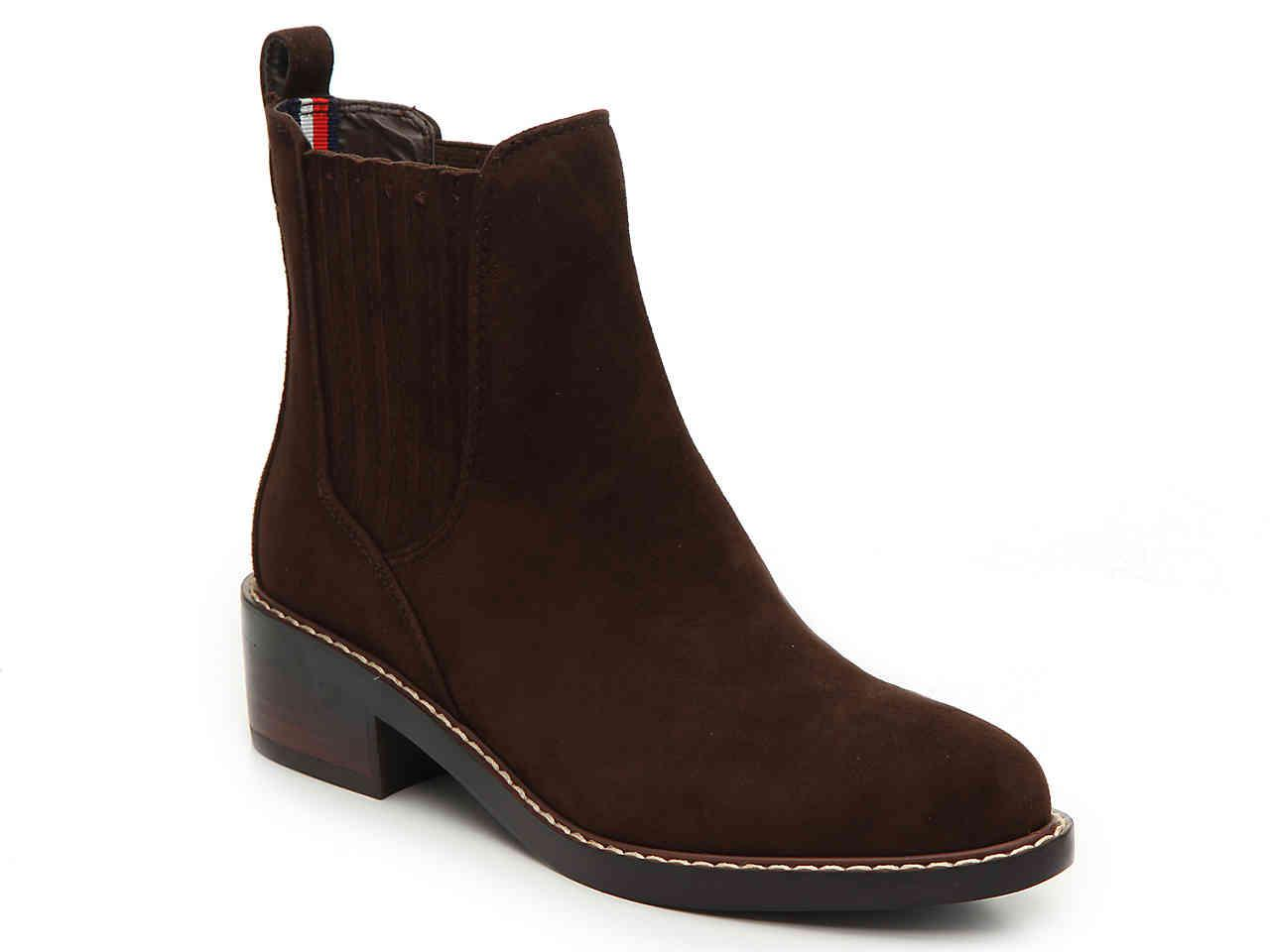eb5d2974 Tommy Hilfiger Wezley Chelsea Boot in Brown - Lyst