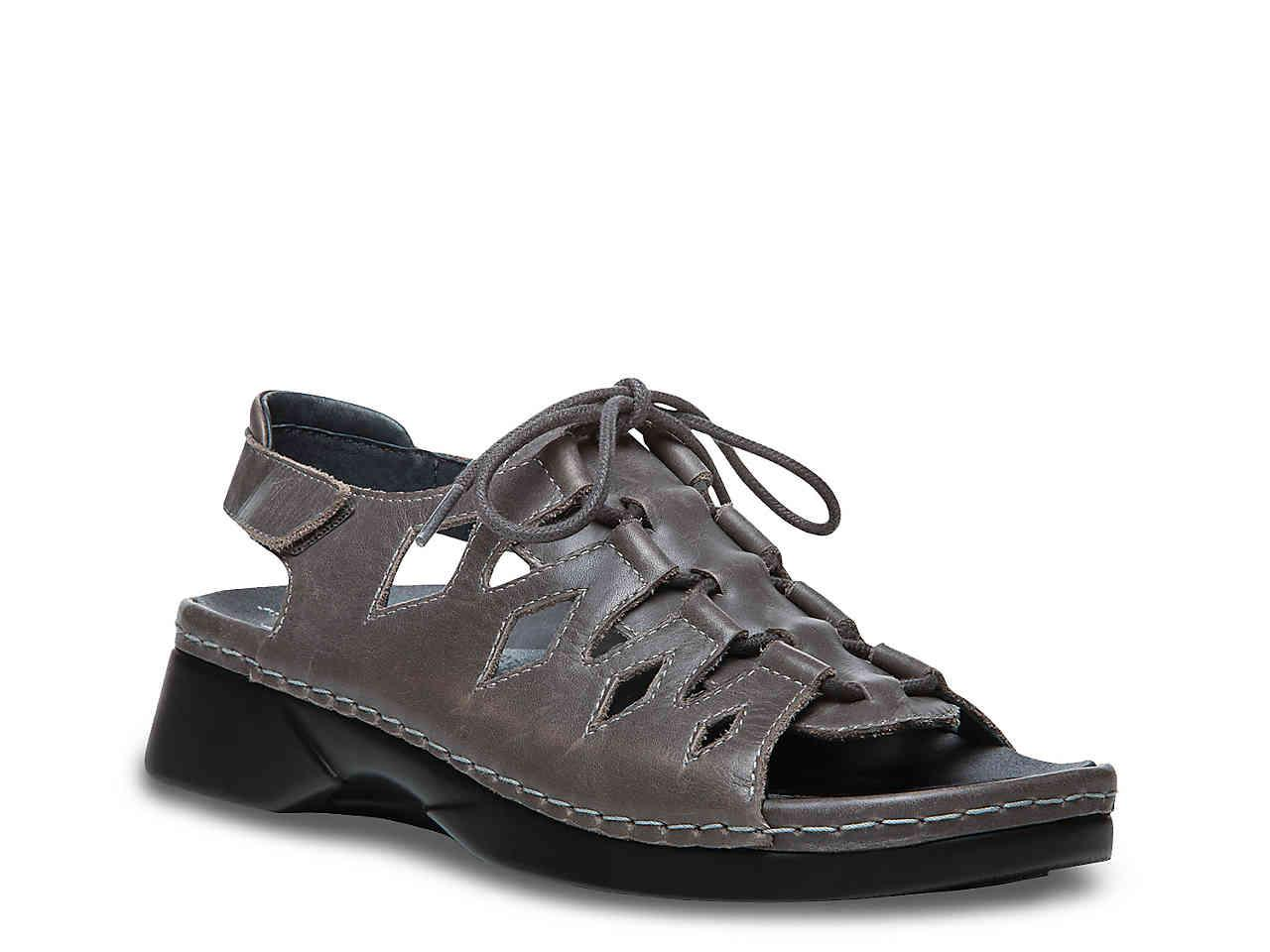 077a2eb777d Lyst - Propet Ghillie Walker Gladiator Sandal in Gray