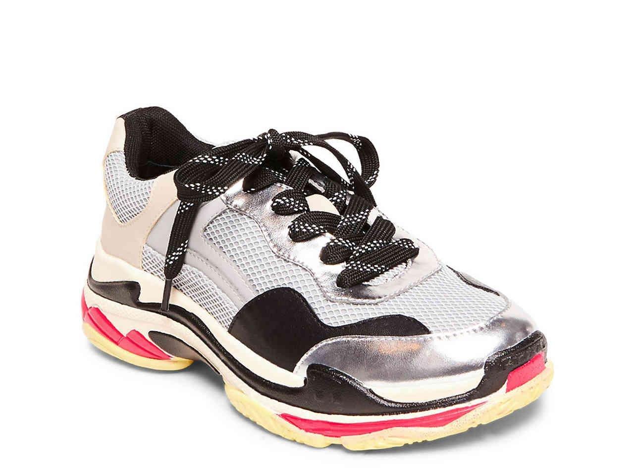 e81adfc2d1b Lyst - Steve Madden Nassau Sneaker in Metallic