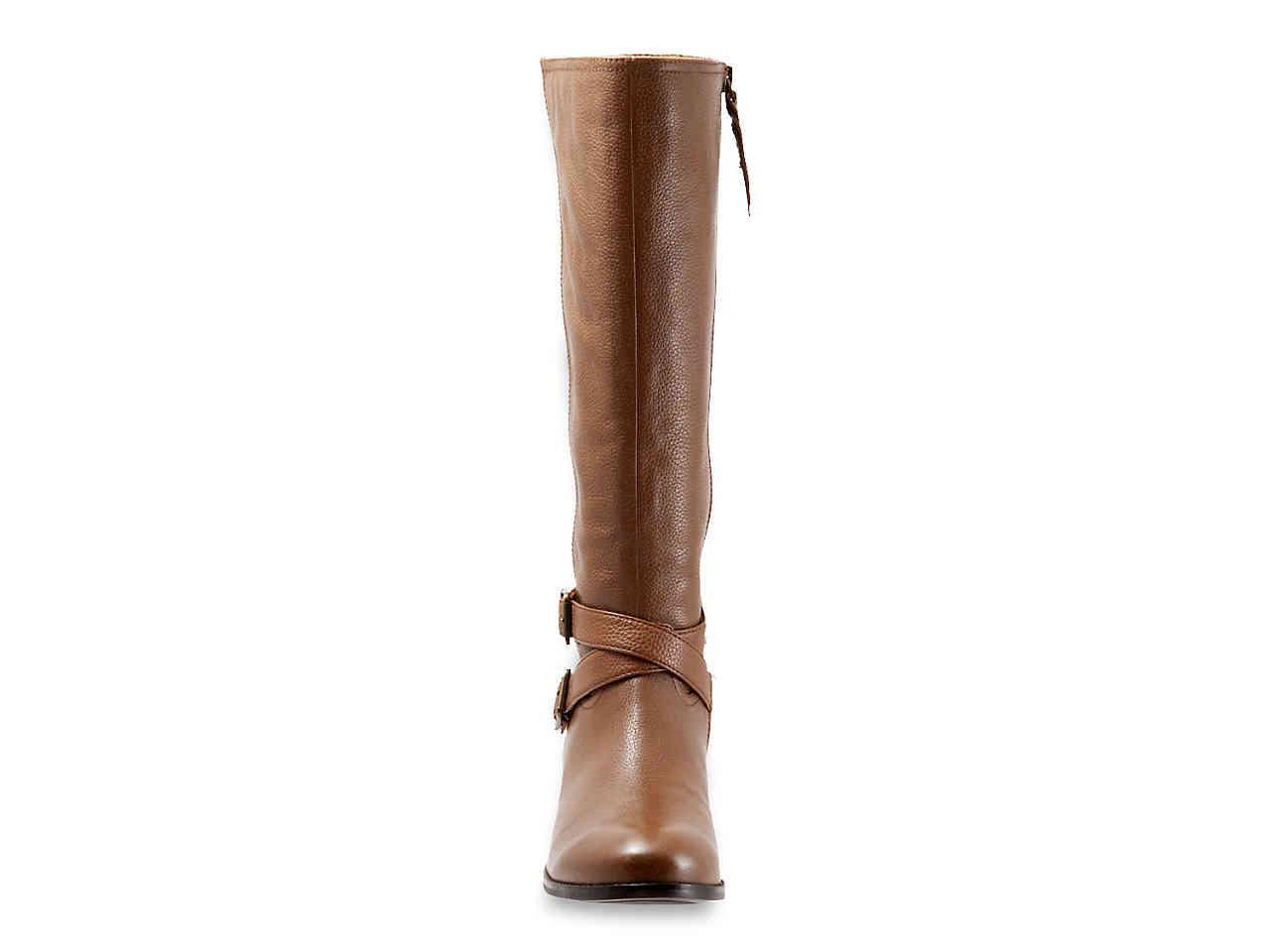 f015e24e59c Trotters - Brown Liberty Wide Calf Riding Boot - Lyst. View fullscreen