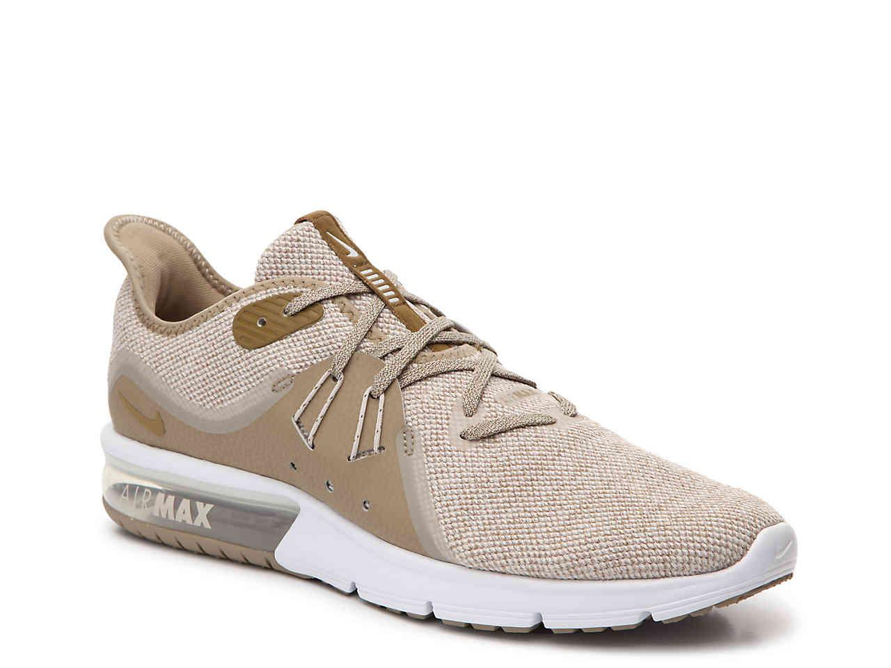 hot sale online f3649 90186 Nike. Men s Natural Air Max Sequent 3 Performance Running Shoe