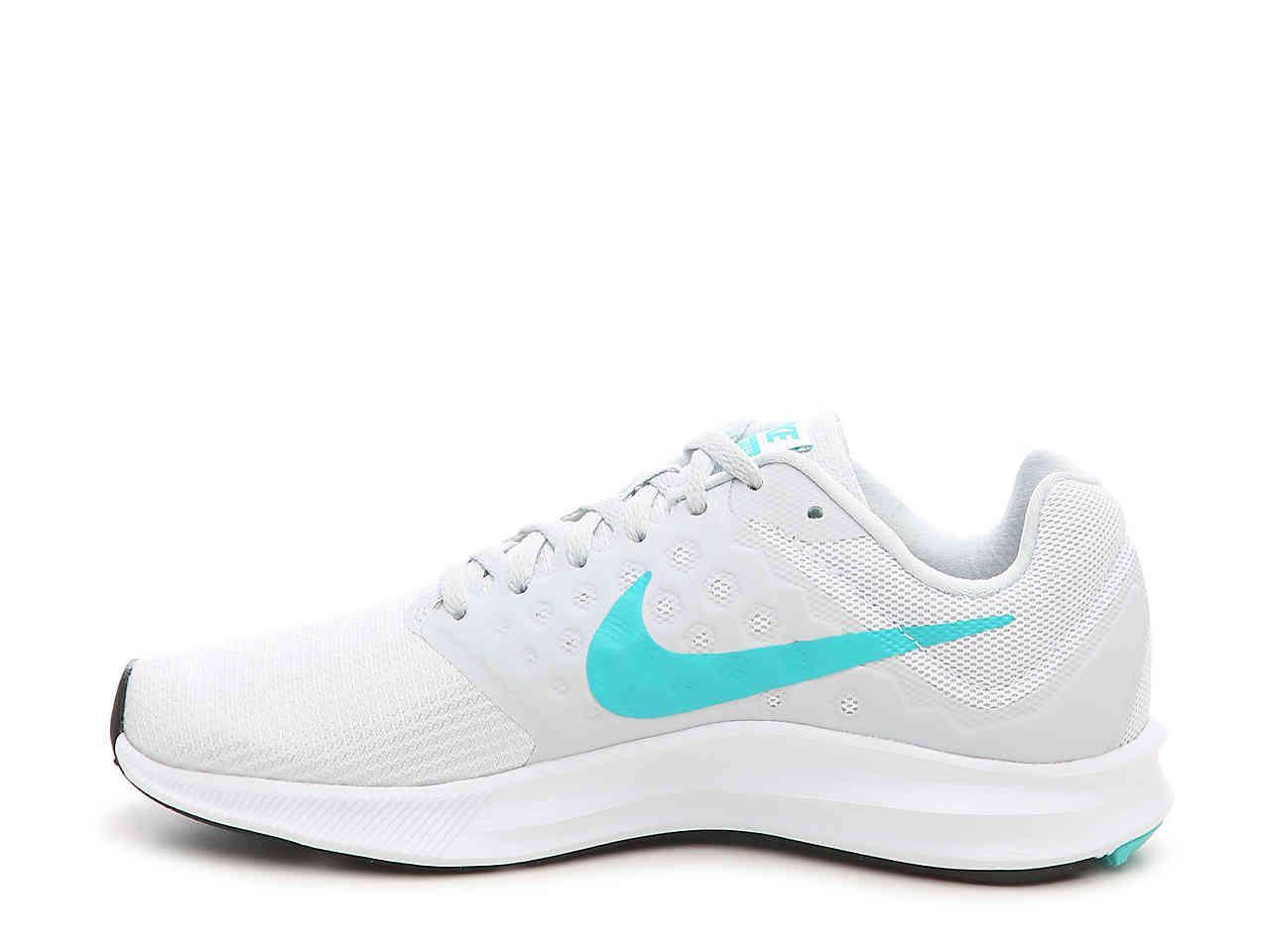 8ff2c0c31f3b0 Lyst - Nike Downshifter 7 Lightweight Running Shoe in White