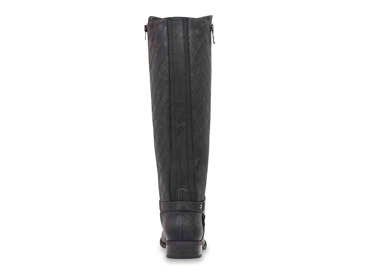 6be47f06879b Lyst - G by Guess Horton Riding Boot in Black