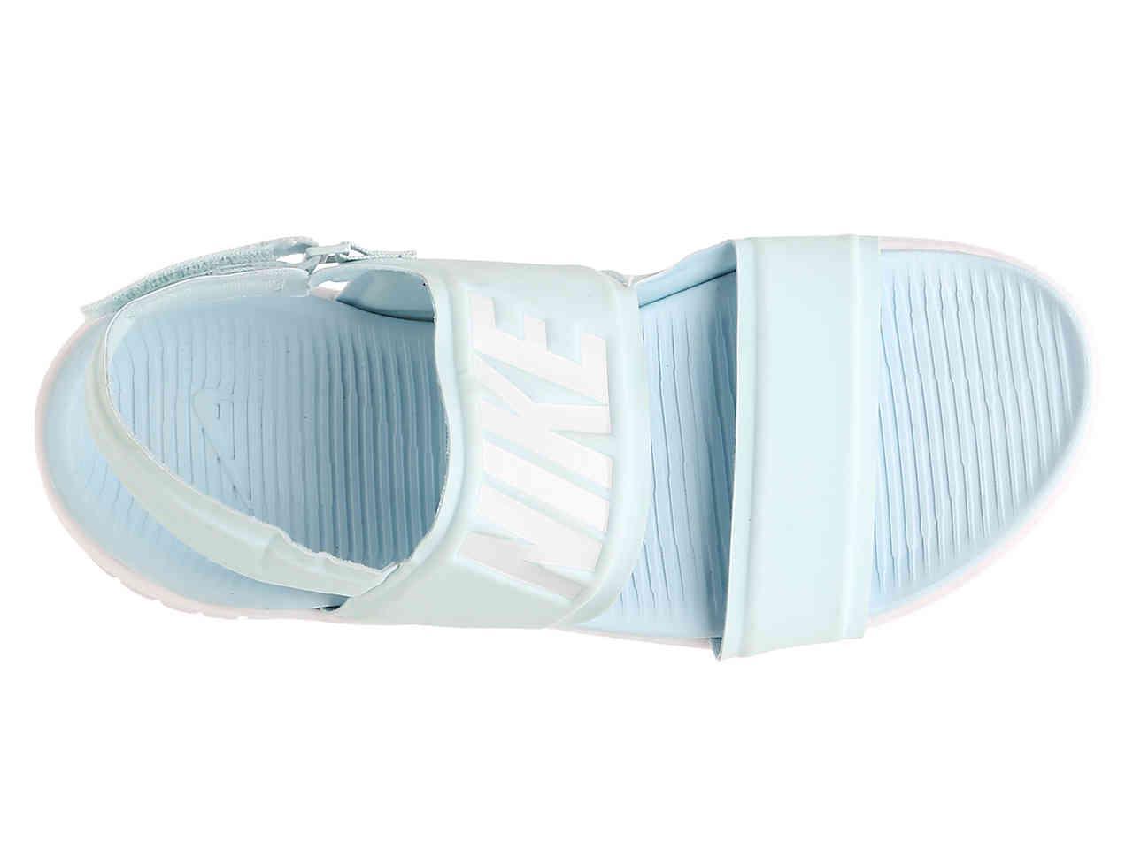 7ef1161a742 Lyst - Nike Tanjun Sport Sandal in Blue