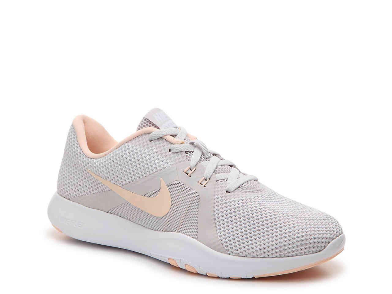 low priced 252b4 1c132 Nike Flex Tr 8 Lightweight Training Shoe in Gray - Lyst