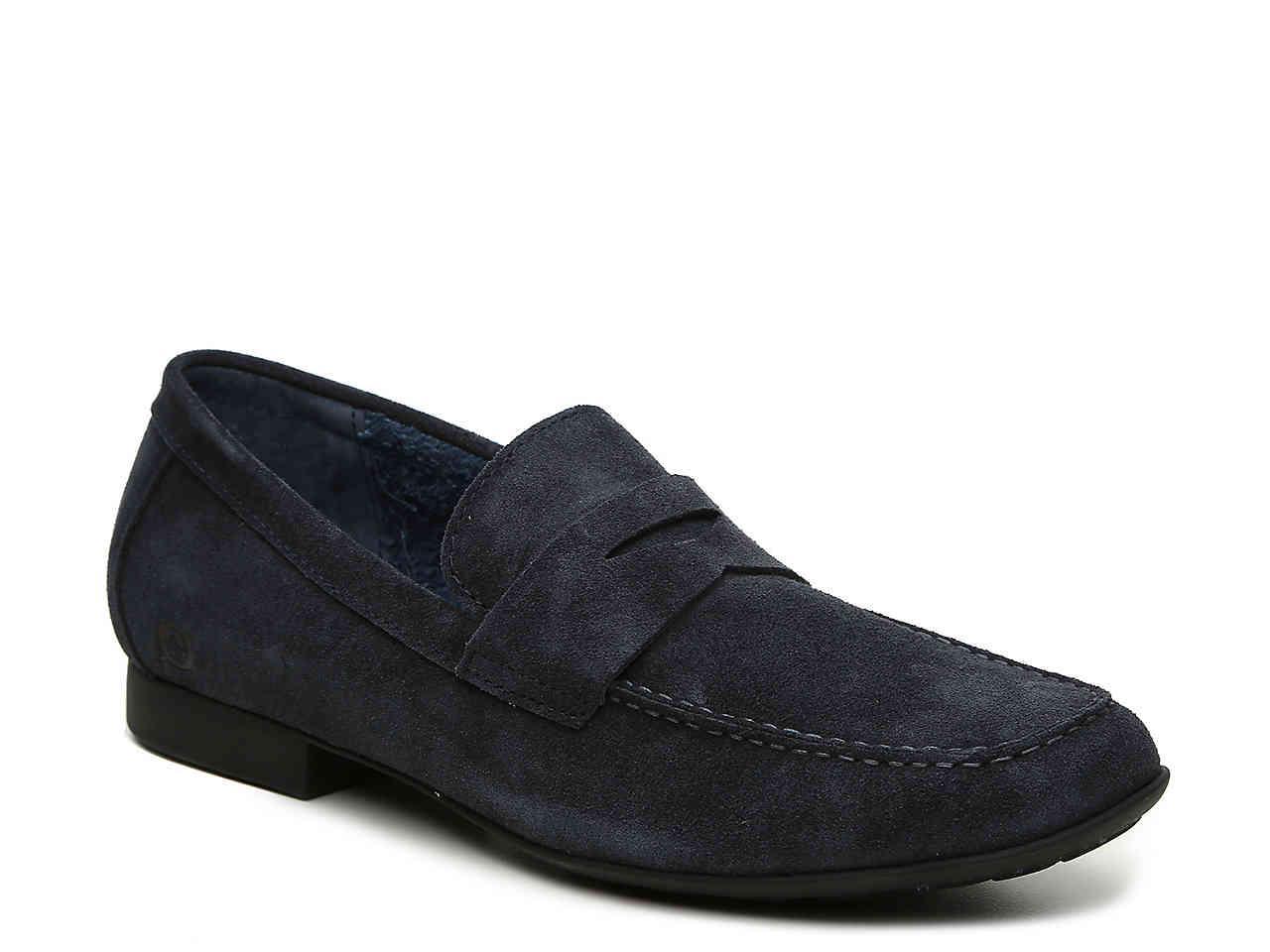 2279ddaaf9e Lyst - Born Dave Penny Loafer in Blue for Men