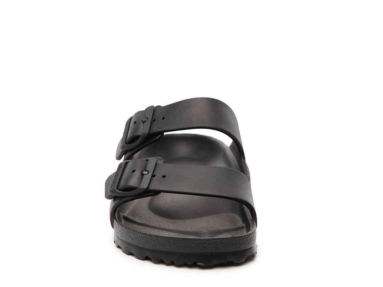 6d693bc939d3 Birkenstock - Black Essentials Arizona Slide Sandal for Men - Lyst. View  fullscreen