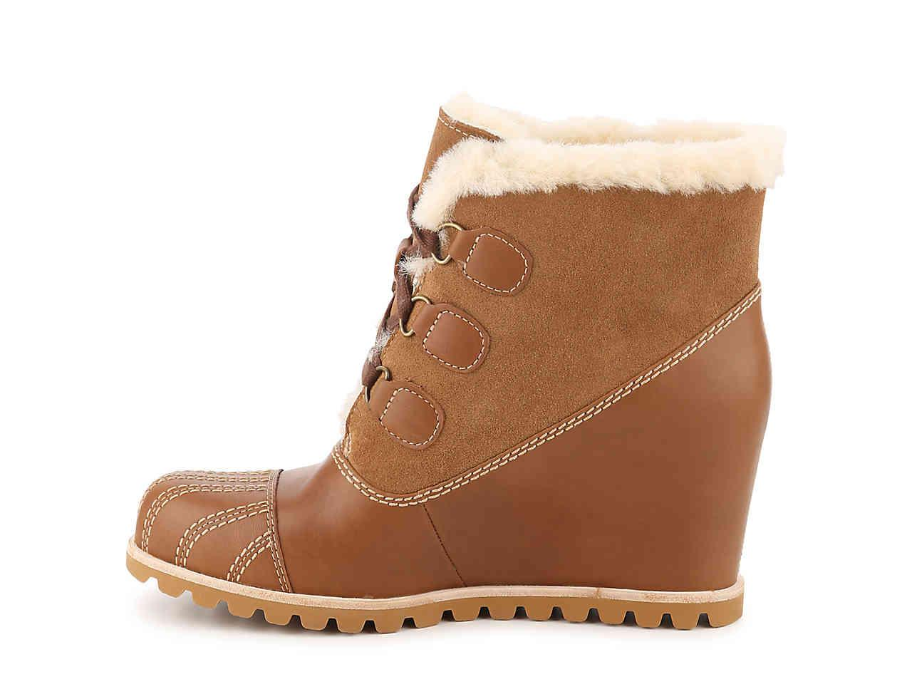 88ddafd145d Lyst - Ugg Alasdair Wedge Bootie in Brown