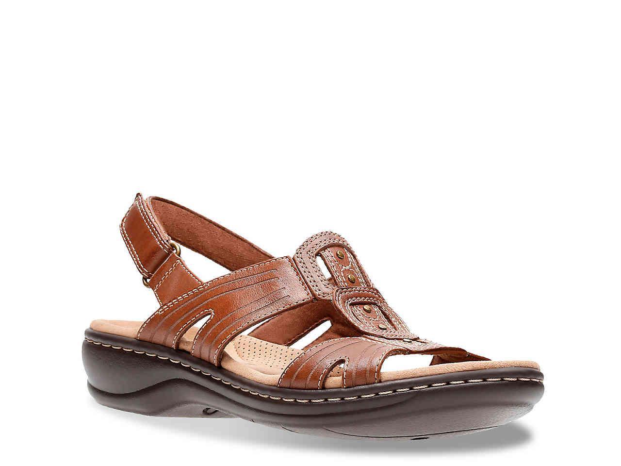c058f43651e Lyst - Clarks Leisa Vine Sandal in Brown