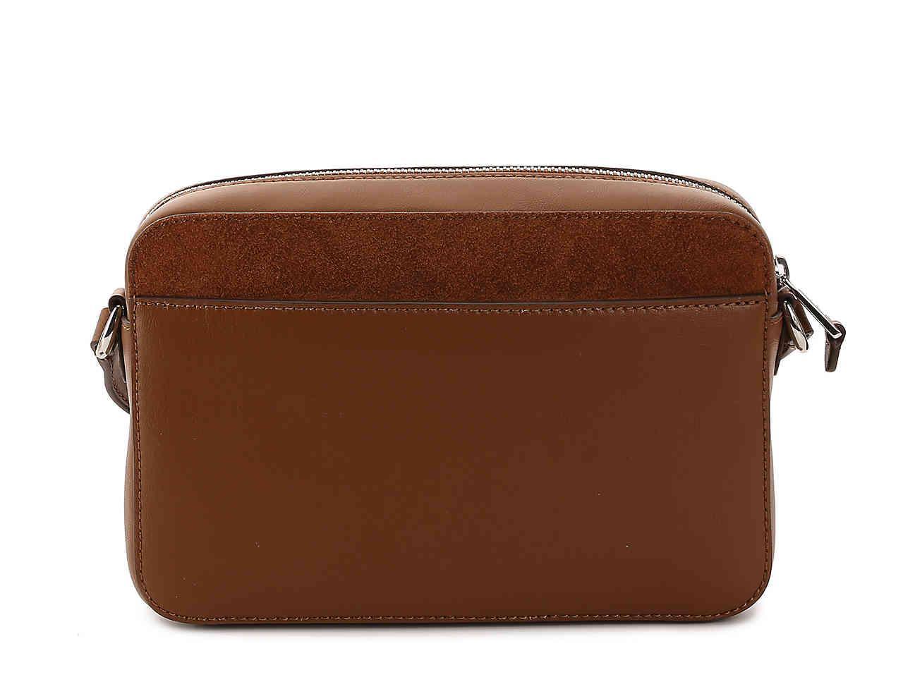 aae34e0780 Lyst - Lauren by Ralph Lauren Dowell Camera Leather Crossbody Bag in ...
