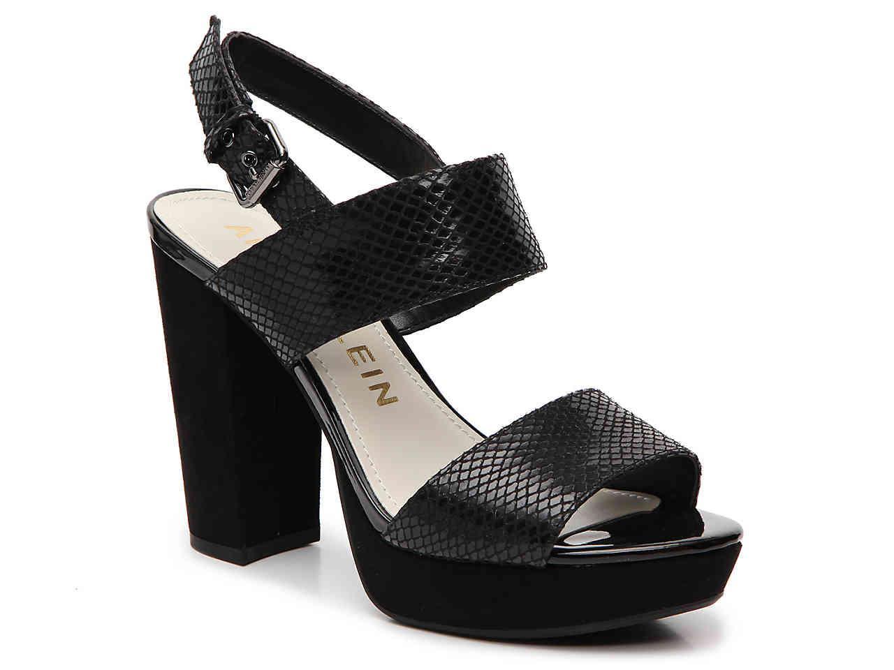 62d5e4a8a3f Lyst - Anne Klein Lorrie Platform Sandal in Black