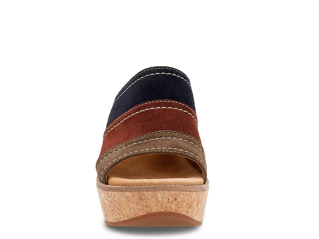 58437b5474 Lyst - Clarks Aisley Lily Wedge Sandal in Brown