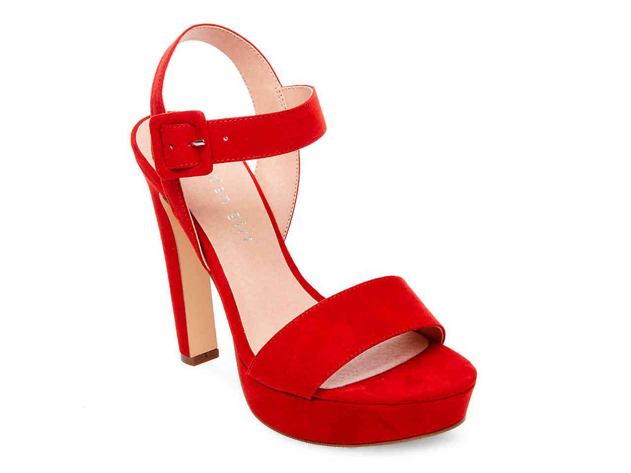 Madden Girl Rollo Embellished Platform Dress Sandals QlK6F6K9KH