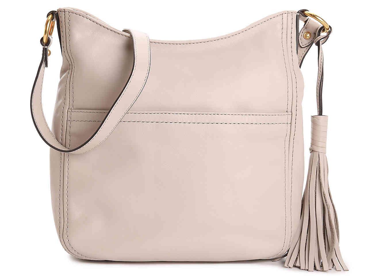 33b99bf720 Lyst - Cole Haan Gabriella Leather Crossbody Bag in Gray