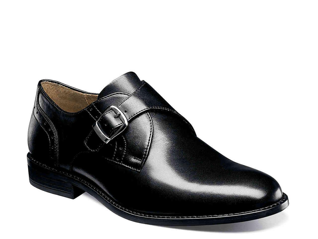 d9e7124d6f Lyst - Nunn Bush Sabre Monk Strap Slip-on in Black for Men